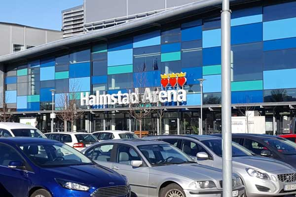 Homecourt of Halmstad arena