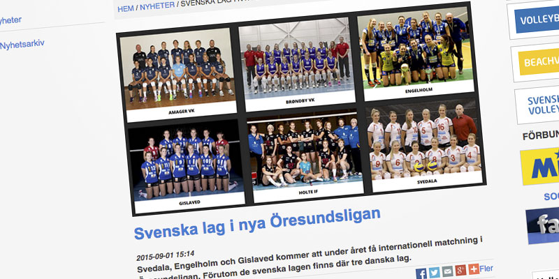 Press: Articles from Sweden